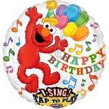 Singing Elmo Balloon, 28-in | Amscannull