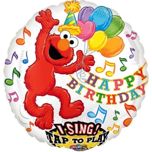 Singing Elmo Balloon, 28-in