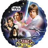 Ballon chantant Star Wars, 28 po | Amscannull