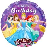 Singing Disney Princess Birthday Balloon, 28-in | Amscannull