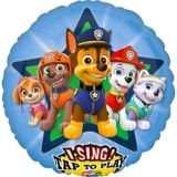 Singing PAW Patrol Balloon, 28-in | Amscannull