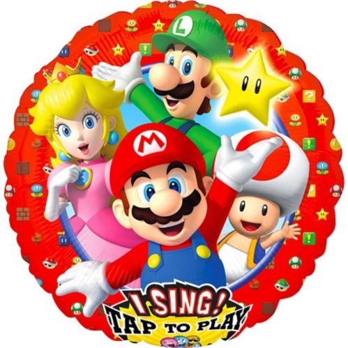 Ballon chantant Super Mario Brothers, 28 po
