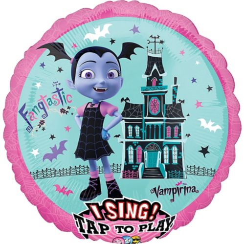 Giant Singing Vampirina Balloon, 28-in