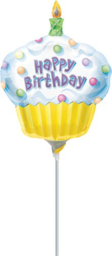 Mini ballon en forme de petit gâteau