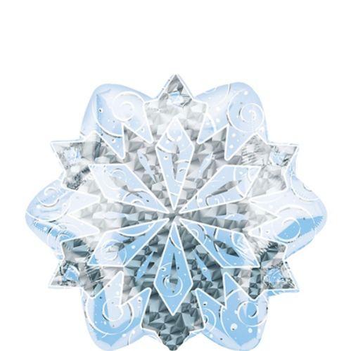 Prismatic Snowflake Balloon, 18-in