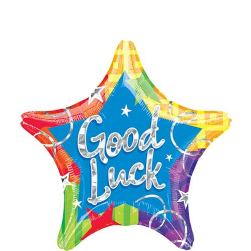 Prismatic Star Good Luck Balloon