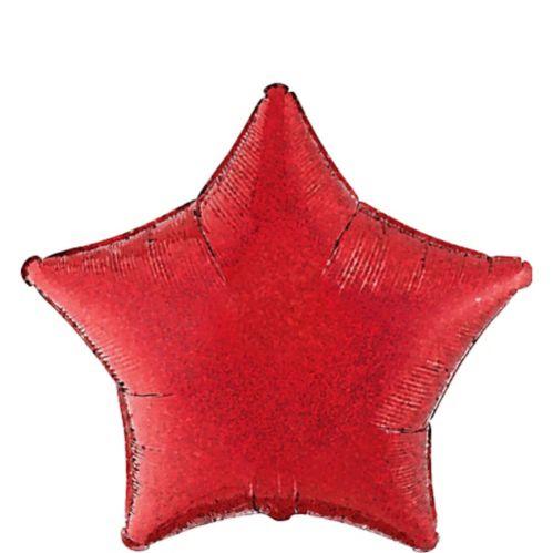 Ballon prismatique étoile