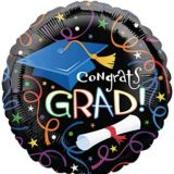 Graduation Grad Celebration Balloon, 17-in | Amscannull