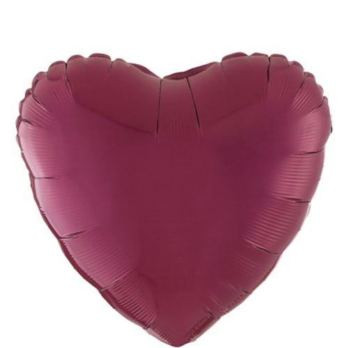 Heart Balloon, 17-in