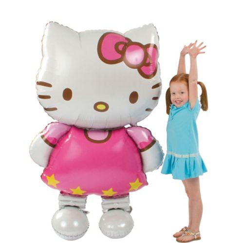 Giant Gliding Hello Kitty Balloon, 50-in