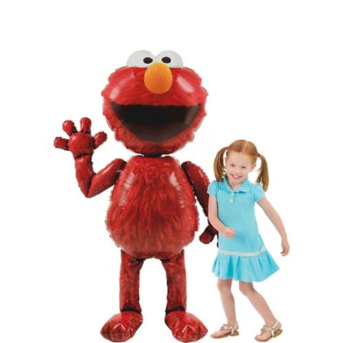 Giant Gliding Elmo Balloon, 54-in