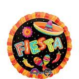 Round Fiesta Balloon, 17-in | Amscannull