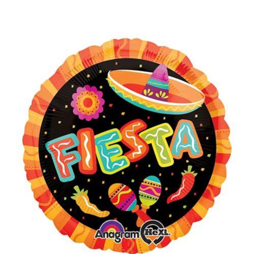 Round Fiesta Balloon, 17-in