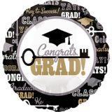Graduation Key to Success Balloon, 17-in