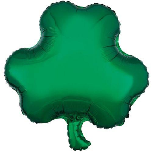 Ballon en forme de trèfle à trois feuilles, 17 po