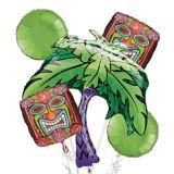 Tiki Balloon Bouquet, 5-pc