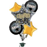 Grad Honors Graduation Balloon Bouquet, 6-pc | Amscannull