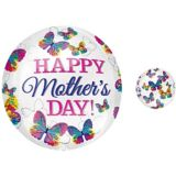 Orbz Butterfly Mother's Day Balloon, 16-in