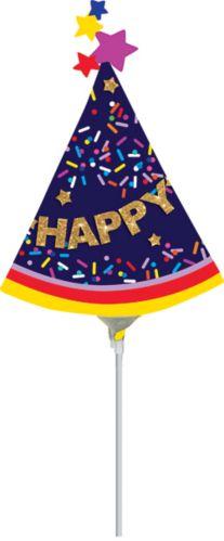 Mini ballon gonflable de chapeau de fête
