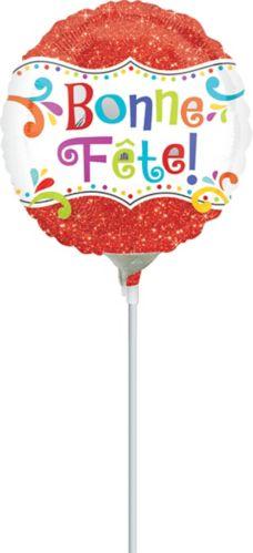 Sprinkle Bonne Fête Air-Filled Balloon