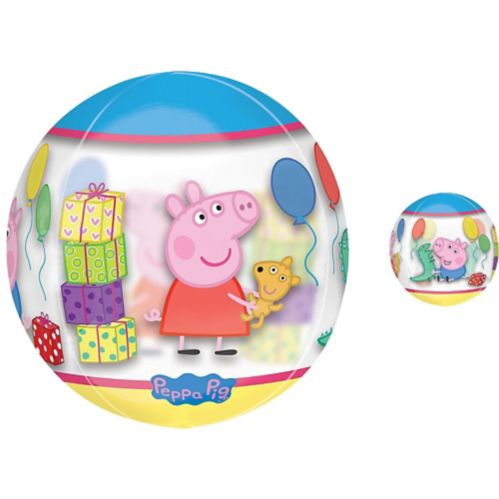 See Thru Orbz Peppa Pig Balloon