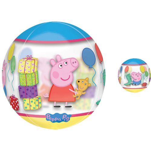 Ballon Peppa Pig, See Thru Orbz