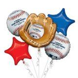 Bouquet de ballons Rawlings MLB, paq. 5 | Amscannull