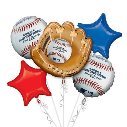 Bouquet de ballons Rawlings MLB, paq. 5