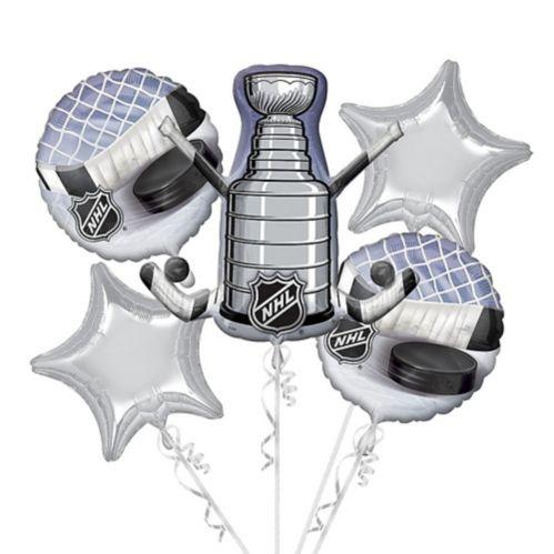 Bouquet de ballons géants de la Coupe Stanley de la LNH, paq. 5