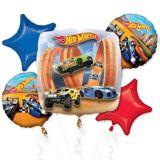 Hot Wheels Balloon Bouquet, 5-pc | Amscannull