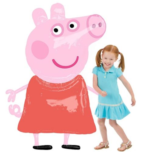 Giant Gliding Peppa Pig Balloon, 48-in