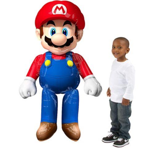 Ballon géant marchant Super Mario, 60 po Image de l'article