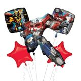 Bouquet de ballons Transformers Optimus Prime, 5-pc