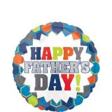 Colourful Father's Day Balloon, 17-in | Amscannull