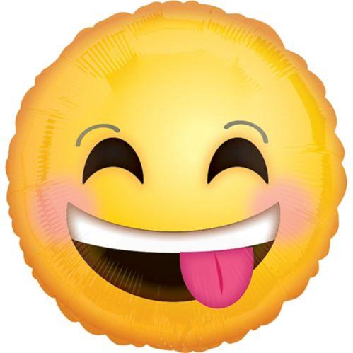 Ballon à visage souriant, 18 po