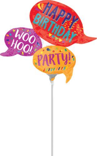 Mini ballon gonflable de célébration d'anniversaire