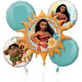 Bouquet de ballons Moana, paq. 5 | Amscannull