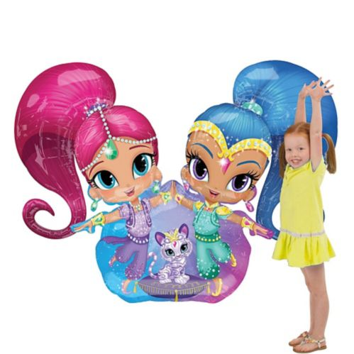 Giant Gliding Shimmer and Shine Balloon, 44-in