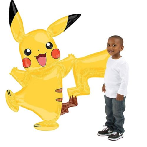 Giant Gliding Pikachu Balloon, 55-in Product image