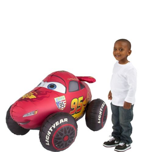 Cars 3 Giant Gliding Lightning McQueen Balloon, 27-in
