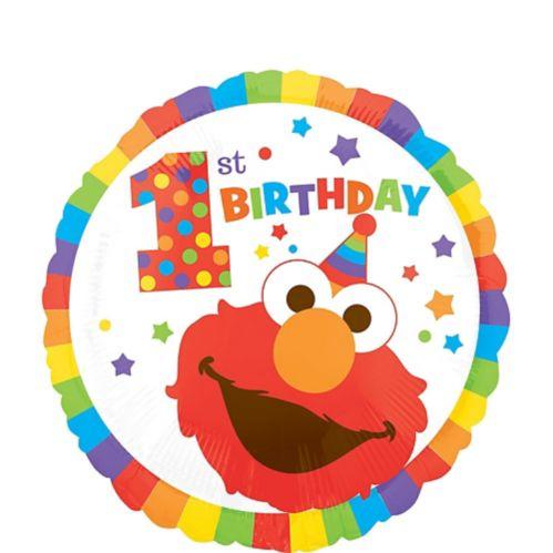 Ballon 1er anniversaire Elmo