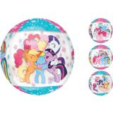 See Thru Orbz My Little Pony Balloon, 16-in | Amscannull