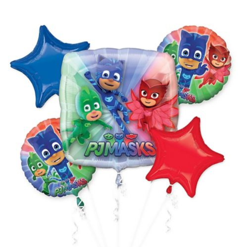 PJ Masks Balloon Bouquet, 5-pc Product image
