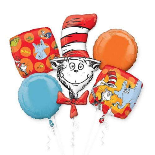 Dr. Seuss Balloon Bouquet, 5-pc
