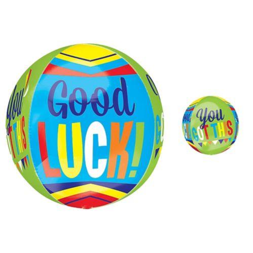 Ballon Good Luck Orbz