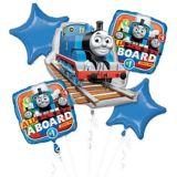 Bouquet de ballons Thomas le petit train, paq. 5 | Amscannull