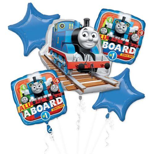 Bouquet de ballons Thomas le petit train, paq. 5 Image de l'article