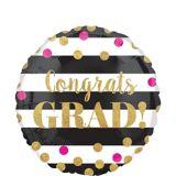 Prismatic Confetti Graduation Balloon, 18-in | Amscannull