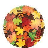 Autumn Leaves Balloon, 17-in | Amscannull