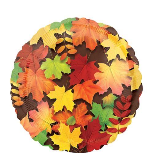 Autumn Leaves Balloon, 17-in